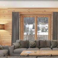 L'Alpaka A6## Luxueux appartement de 3,5 pièces magnifique vue aux pieds des pistes