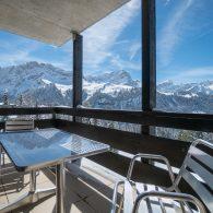 Les Petites Maraîches ## Cosy studio avec vue extraordinaire sur les montagnes et sur la piste de ski