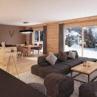 L'Alpaka A3## Luxueux appartement de 4,5 pièces magnifique vue aux pieds des pistes