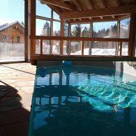 Chalet Le Verseau ##chalet de 6,5 pièces à 100m des télécabine avec grande dépendance piscine